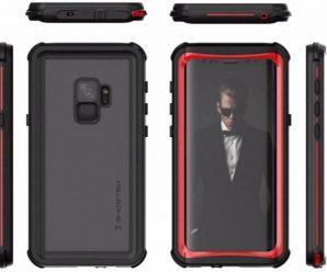 Samsung Galaxy S9 uitgelekt op case renders
